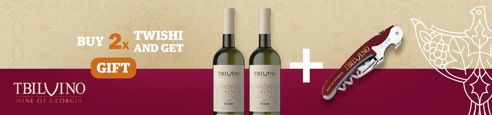 Tbilvino Tvishi 2 + Corkscrew ENG